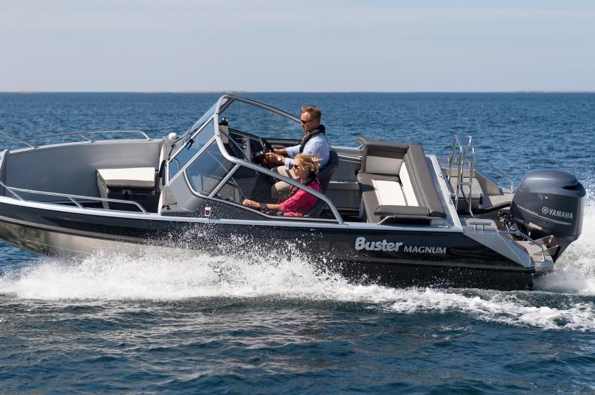 Buster Magnum - Beliebtes, grosses Aluminiumboot